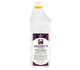 Lavosept K Lemon disinfectant surfaces and tools washing concentrate for professional use of more than 75% alcohol 1 liter