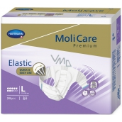 MoliCare Premium Elastic L 110-150 cm 8 drops adhesive diapers for medium to severe incontinence 24 pieces