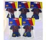 FC Barcelona Aromatic scented card in the form of club players' clothing exp.02 / 2017 4053/4039/4046/3292