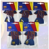 FC Barcelona aromatic car fragrance card shaped clothing players club expiration 10/2017