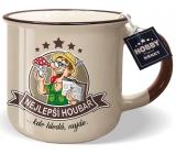 Nekupto Hobby mug with the words Best Mushroomer 250 ml