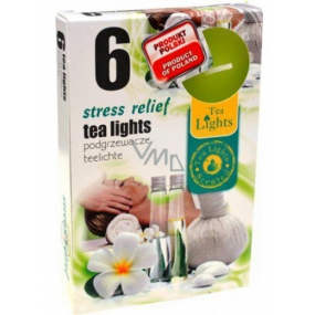 Tea Lights Stress Relief with fragrance relief from stress fragrant tea candles 6 pieces