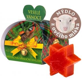 My Poinsettia Tangerine Sheep Milk Gift Soap 13 g