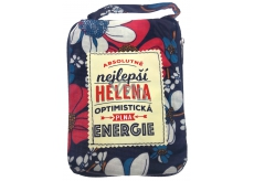 Albi Foldable bag for zipper with a name Helena 42 x 41 x 11 cm