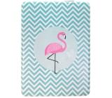 Albi Original Mirror rectangle Flamingo 8.5 x 6 cm