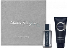 Salvatore Ferragamo Ferragamo eau de toilette for men 5 ml, Miniature + shower gel 50 ml, gift set