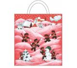 Anděl Igelitová taška - 1. Čertíci a sněhulák