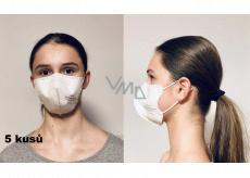 Crdlight Respirator FFP2 face mask for children Junior white 10 pieces