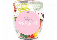 Albi Candies in glass I love you 120 g