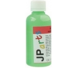 JP arts Paint for textiles on light materials glowing in the dark neon green 50 g