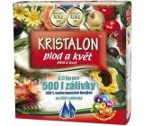 Agro Kristalon Plod a květ vodorozpustné univerzální hnojivo 0,5 kg pro 500 l zálivky