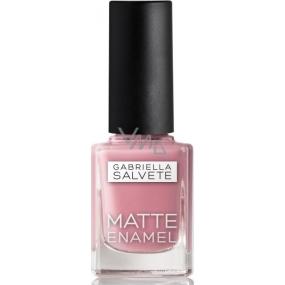 Gabriella Salvete Matte Enamel nail polish 105 Rosé 11 ml