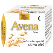 Bione Cosmetics Avena Sativa Night Face Cream Special For Sensitive And Problematic Skin 51 ml