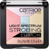 Catrice Light Spectrum Strobing Brick rozjasňovač 030 Candy Cotton 8,8 g