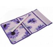 Pocket for hanging purple 43 x 24 cm 4 pockets 711