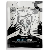 Barber Pro Face Mask with Activated Charcoal and Volcanic Ash for Men 3 x 3.5 ml