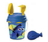 Mondo Wanted Dorry Sand bucket set with strainer, rake, shovel and muffin