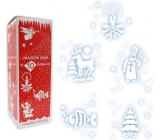 Christmas snow with 10 spray templates 150 ml