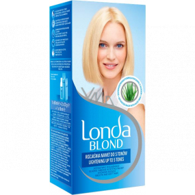 Londa blonde hair lightener lightens up to 5 shades