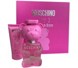 Moschino Toy 2 Bubble Gum eau de toilette for women 30 ml + body lotion 50 ml, gift set