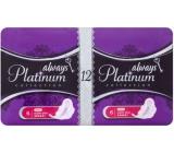Always Platinum Collection Ultra Super Plus intimní vložky 2 x 6 ks