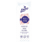 Linteo 100% Natural Cosmetic Wadding Removal Pads 100 pieces