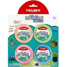 Paulinda Bubble modeling clay drying neon 4 x 33 g blister