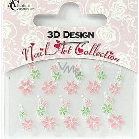 Absolute Cosmetics Nail Art 3D nail stickers 24919 1 sheet