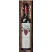 Bohemia Gifts Merlot For grandma red gift wine 750 ml