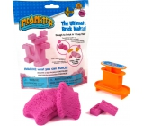 Mad Mattr Kinetic sand modeling Mold Create a brick pink 57 g