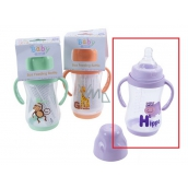 Baby Bottle With Grasp Baby First 250ml Hippopotamus 8770