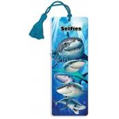 Prime3D bookmark - Sharks 5.7 x 15.3 cm