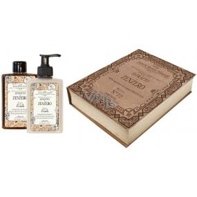 Amovita Olio di Zenzero shower gel 300 ml + body lotion 300 ml, cosmetic set
