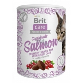 Brit cat cat snack Superfruits Salmon supplement for adult cats. 100 g