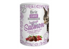 Brit Care Cat Snack Crunchy salmon treat with rosehip and cranberries 100g