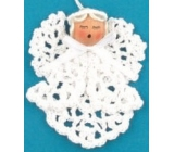 Crocheted angel 1pcs 9cm 2526 7473