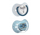 Canpol pacifier silicone. dynamic. LOVI Indian Summer 0-3m 2pcs blue 8556