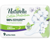 Naturella Cotton Protection Ultra Night sanitary pads with wings 9 pieces