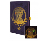 Epee Merch Marvel Avengers - Infinity War Block A5 14.8 cm x 21 cm premium LED illuminated