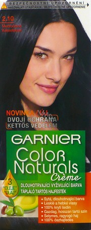 garnier colour naturals black how to use
