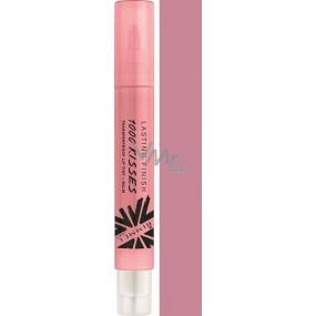 Rimmel London Lasting Finish 1000 Kisses Lip Gloss 210 Everlasting Mauve 4 ml