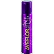 Aveflor Scinti hairspray with multicolour glitter with a 75 ml medium stiffness