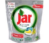 Jar Platinum All in One Lemon Kapsle do myčky nádobí 27 kusů