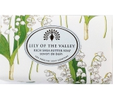 English Soap Lily of the valley from the valley natural perfumed soap with shea butter 190 g