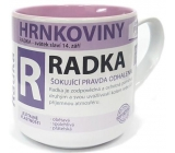 Nekupto Hrnkoviny Mug with the name Radka