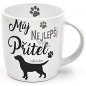 Nekupto Hafani ceramic mug Labrador 300 ml