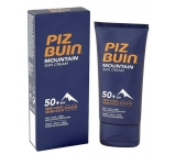 Piz Buin Mountain Suncream SPF50 + moisturizing cream protects skin from sun, cold and dry wind 50 ml