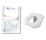 Hygset Disposable paper seats, WC hygienic toilet seat cover 10 pieces