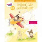 Ditipo Erasable notebook Relaxation exercises for children 5-7 years 16 pages 215 x 275 mm
