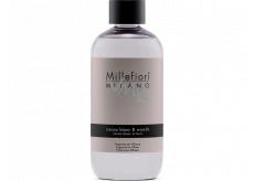 Millefiori Milano Natural Cocoa Blanc & Woods - White cocoa and wood Diffuser refill for incense stalks 250 ml